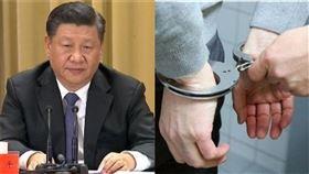 中國民眾上網討論這次的二波大流行,擔憂病毒再次捲土重來,竟然被公安直接上門逮捕(示意圖/資料照)