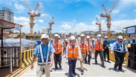中壢一號社宅預計2022年3月竣工,打造桃園社宅代表作(圖/桃園市政府)