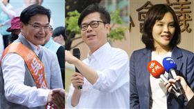 翻攝自吳益政臉書、陳其邁臉書、李眉蓁臉書