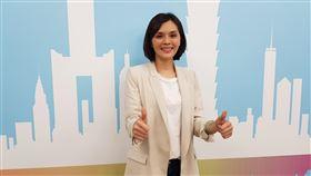 高雄市議員李眉蓁,代表國民黨出戰高雄市長補選