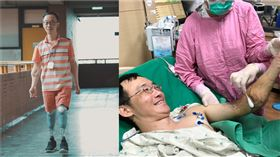 中山大學企管系助理教授王致遠,四肢截肢重返教職