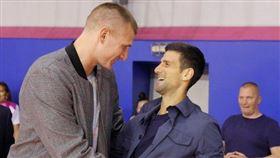 喬科維奇確診 疑傳染NBA巨星 NBA,丹佛金塊,Nikola Jokic,塞爾維亞,武漢肺炎,Novak Djokovic 翻攝自推特