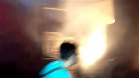 苗栗,國道3號,火燒車,物流