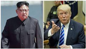 金正恩,川普,軍事,戰爭,北韓,美國 圖/美聯社/達志影像