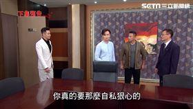 江宏傑還真的代表世界集團簽約。