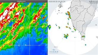 台灣持續高溫炎熱 今起降雨增多