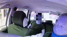 ▲陳男做完筆錄搭乘計程車回家卻沒付車資。(圖/翻攝畫面)