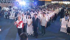 大量韓粉團體出席許崑源公祭