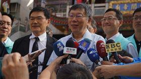 台北市長柯文哲。(圖/民眾黨提供)
