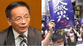 香港行政會議成員葉國謙(組合圖/翻攝自香港立法會官網,AP影音授權)