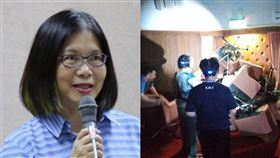 管碧玲嗆國民黨:陳菊為台灣民主被關時,這幾個立委在哪?(組合圖/資料照、翻攝臉書)