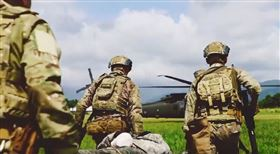 美軍特戰部隊來台灣聯訓 國防部證實了,圖/翻攝自1st Special Forces Group - Airborne臉書
