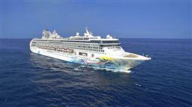 「探索夢號」將成為第一艘全球復航的國際郵輪。(圖/雄獅提供)