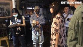 台北,咖啡店,浣熊,虐待動物,道歉 (圖/記者 李依璇攝影)