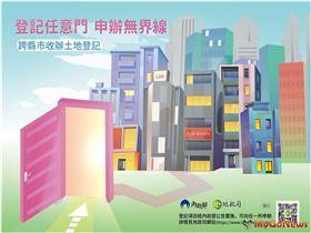 法院拍賣、抵押權登記,地所7月起可跨縣市受理(圖/內政部)