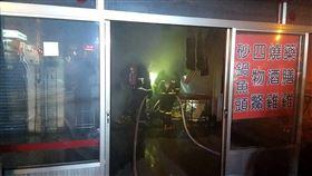 火災,台南,小吃店,夫妻