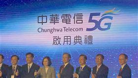圖/記者谷庭攝,中華電信5G謝繼茂