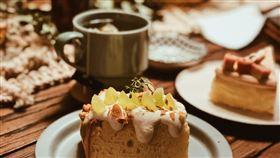 蛋糕,茶點,下午茶。(圖/翻攝自Unsplash)