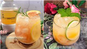 全聯夏日飲品,鮮柚綠茶氣泡飲,芒果多多氣泡飲,翻攝自全聯臉書社團