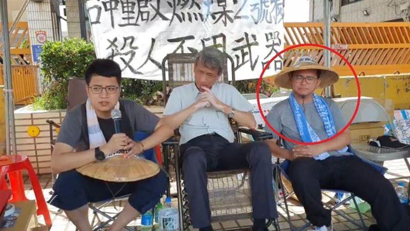 曾捐肝救父…絕食抗議中火28小時 議員黃健豪昏倒送醫