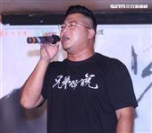 「含羞草日記」團長含羞草(草爺)轉戰樂壇當歌手推出2020全新單曲「兄弟你說」。(記者邱榮吉/攝影)