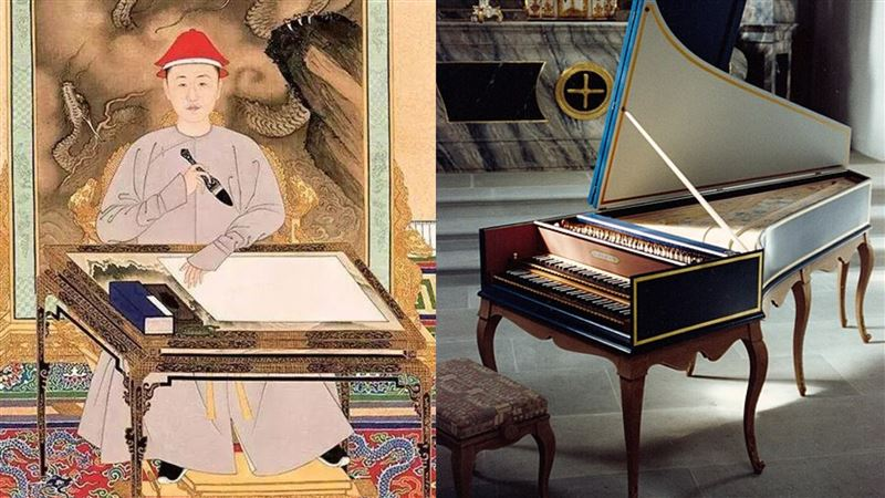 中國古代第一位會彈鋼琴的人竟是這個皇帝!