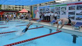 國訓中心新泳池啟用。(圖/國家運動訓練中心提供)