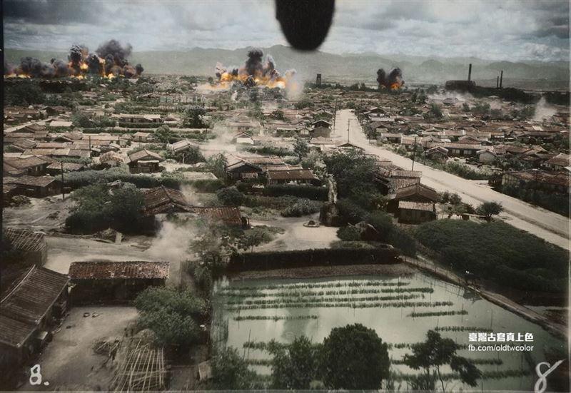 老照片故事/75年前臺南被轟炸成這樣子 觸目驚心好不捨