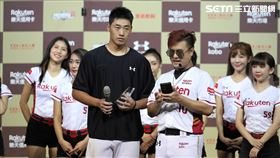 ▲樂天桃猿投手翁瑋均獲選單場MVP。(圖/記者劉彥池攝影)