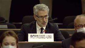 英國駐聯合國日內瓦總部大使布瑞斯威特,Julian Braithwaite(圖/翻攝自Julian Braithwaite推特)