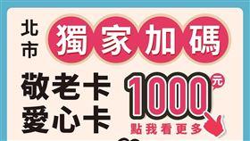 黃珊珊,三倍券,台北市,加碼,電子支付,學生卡,老人卡,愛心卡(圖/翻攝自台北市官網)