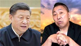 中國領導人習近平,名嘴唐湘龍(圖翻自新華網、飛碟早餐youtube)