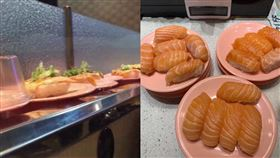爽拿10盤鮭魚壽司 竟遭隔壁嗆這句(圖/資料照、翻攝自爆怨公社)