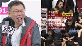 台北市長柯文哲酸國民黨立委佔議場:漏氣,應該先鍛鍊好身體(示意圖/資料照)