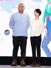 「媽,別鬧了!」導演李俊宏、導演陳慧翎。(記者邱榮吉/攝影)