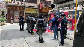 國安法,香港,國旗,獨立,中華民國(圖/臉書YKS至尊寶)