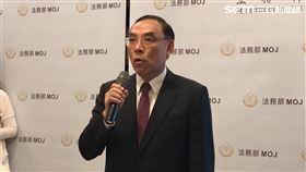 ▲法務部長蔡清祥表示,將加強會客菜的檢查。(圖/記者楊佩琪攝)