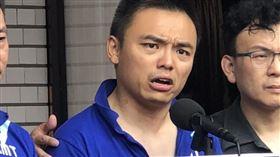 國民黨立委洪孟楷控民進黨立委勒頸殺人。(圖/記者林恩如攝影)
