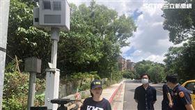 北投,台北,學園路,測速器, 市議員王鴻薇提供