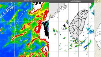 恐下一整天!中南部防大雷雨劇烈天氣