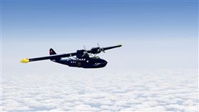 當年華航成立引進的首架飛機,是水陸兩用的PBY-5機型。(圖/資料照)