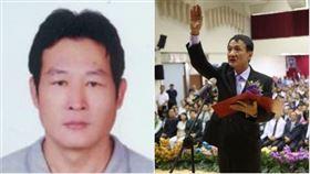 屏東市民代表會主席蕭國亮,屏東市長林恊松,組合圖