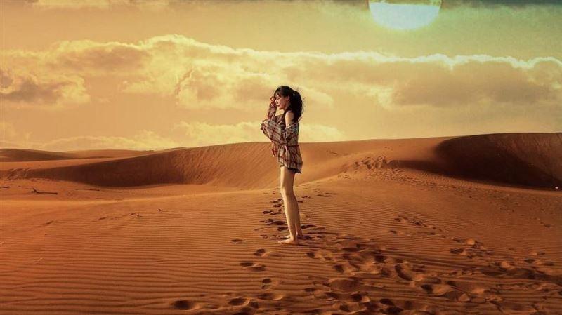 IG紅什麼/隱身台南的「台版撒哈拉」 淒美沙漠美景驚人 | 生活 | 三