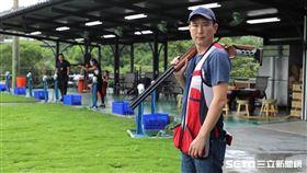 ▲前射擊國手陳威陶。(圖/記者劉彥池攝影)