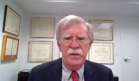 波頓籲美國外交承認台灣  加強施壓北