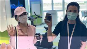 東南衛視,女記者,上節目,採訪,陸委會,遣返,桃園國際機場(圖/翻攝畫面)