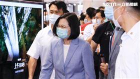 總統蔡英文出席2020台北電器展。(圖/記者林聖凱攝影)