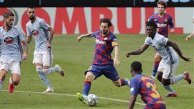 ▲傳梅西(Lionel Messi)約滿將離開巴塞隆納。(圖/美聯社/達志影像)
