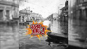 這年武漢淹水3個月!街道常見浮屍飄