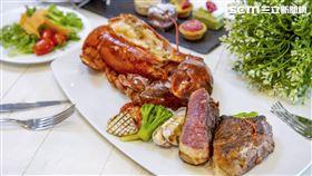 六福萬怡酒店旗下敘日全日餐廳提供結合單點主餐與自助吧的Semi Buffet型式服務,持續發揮創意,一口氣推出10款風味主餐(圖/六福旅遊集團提供)
